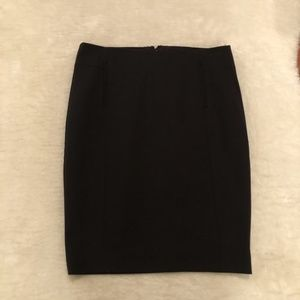RW & CO. Black Pencil Skirt with Stretch Lining